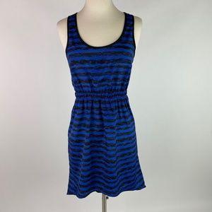 🛍️3/$20 Lush Women Hi-Low Dress Blue/Black
